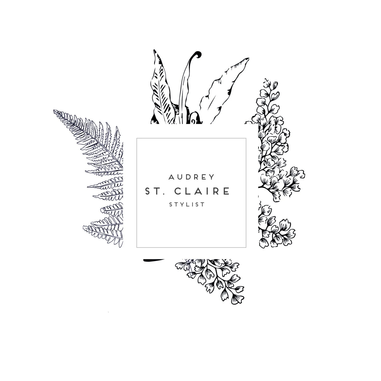 Botanical Logo Photography Logo Soap Logo Stylist logo