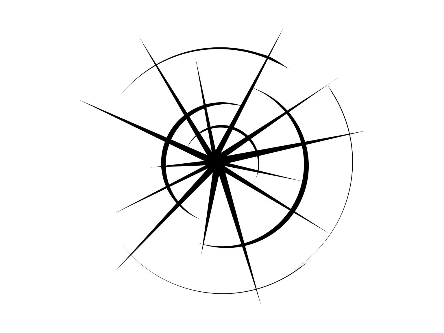 Bullet Hole Svg Illusion Broken Glass Svg Window Glass