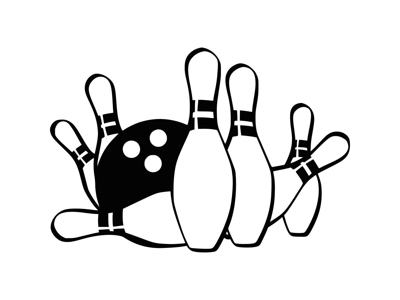 Svg Bowlingkugel Svg Bowling Clipart Bowling Geschnitten