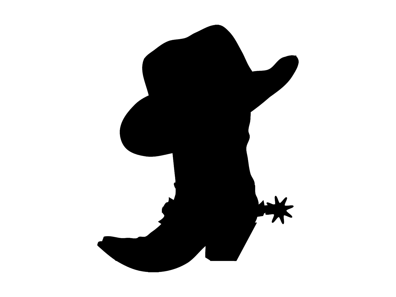 cowboy hat boot western