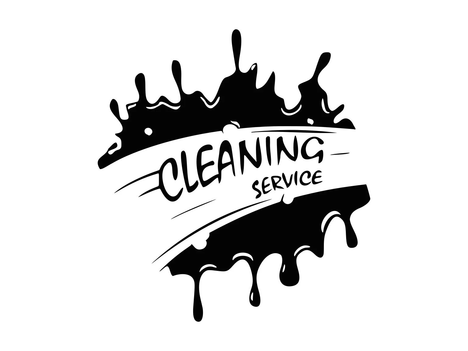 Cleaning Service Svg Cleaning Logo Svg Business Sign Svg