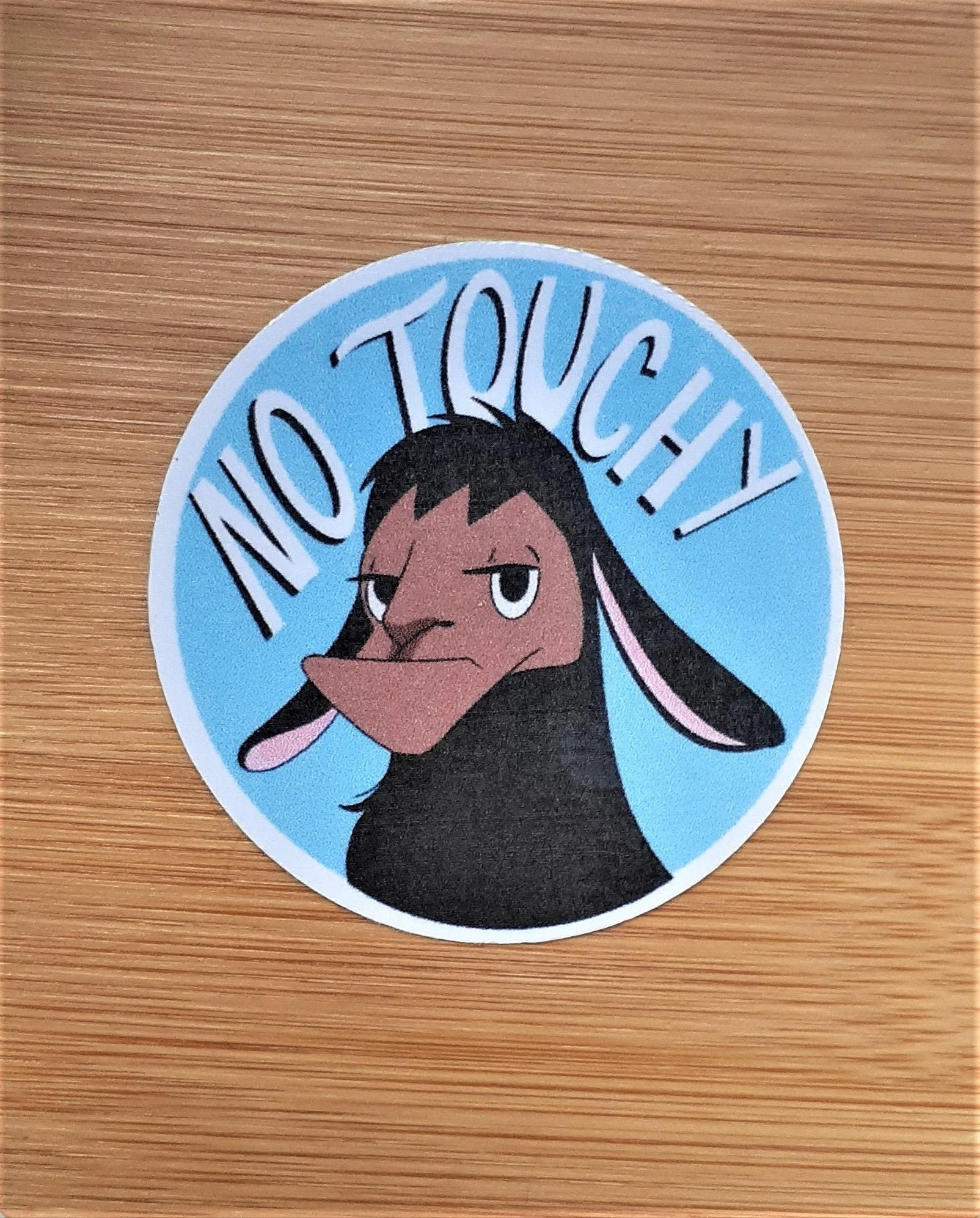 No Touchy Meme : touchy, Touchy, Sticker, Kuzco
