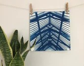 Large Architectural Cyanotype - unframed