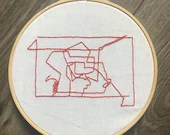 Art Inspired Embroidery: Command Lines 1
