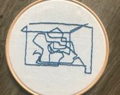 Art Inspired Embroidery: Command Lines 2