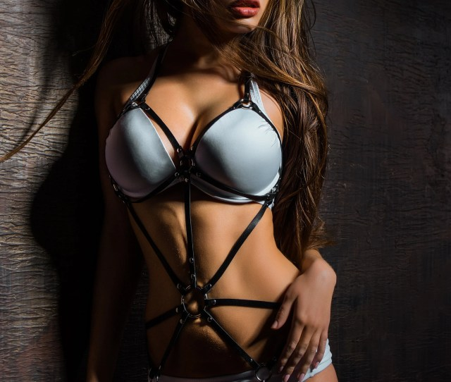 Sexy Women Harness Bondage Harness Leather Harness Body Harness Legs Harness Mature Dominatrix Bdsm Submission Full Body Harness Lingerie