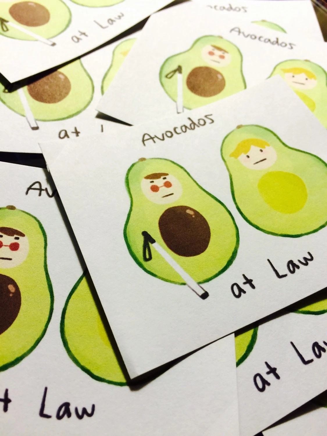 avocados at law stickers