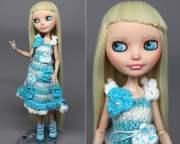 ooak high repaint doll