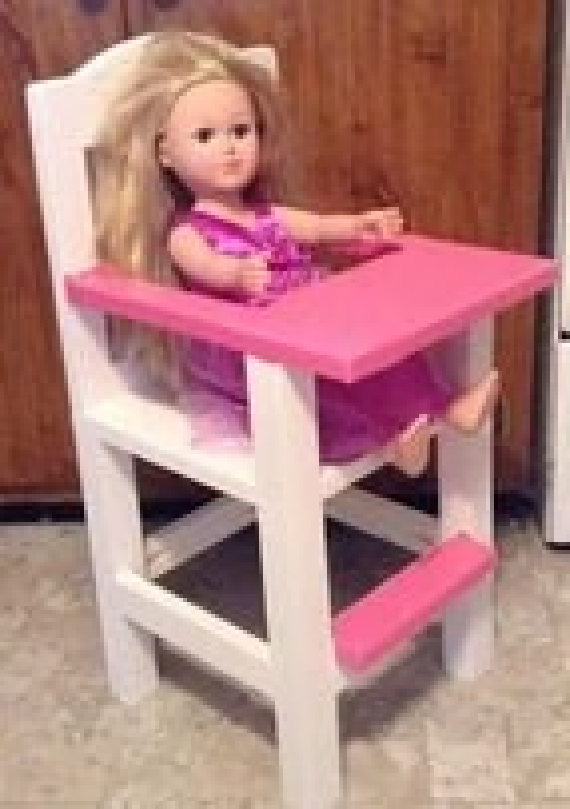 american girl doll high chair ikea ektorp jennylund cover etsy