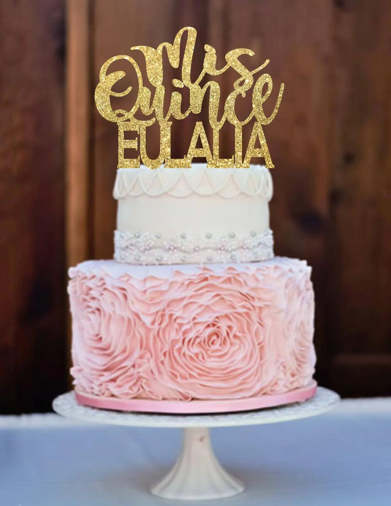Quinceanera Quinceanera Cake Topper Birthday Cake Topper Etsy