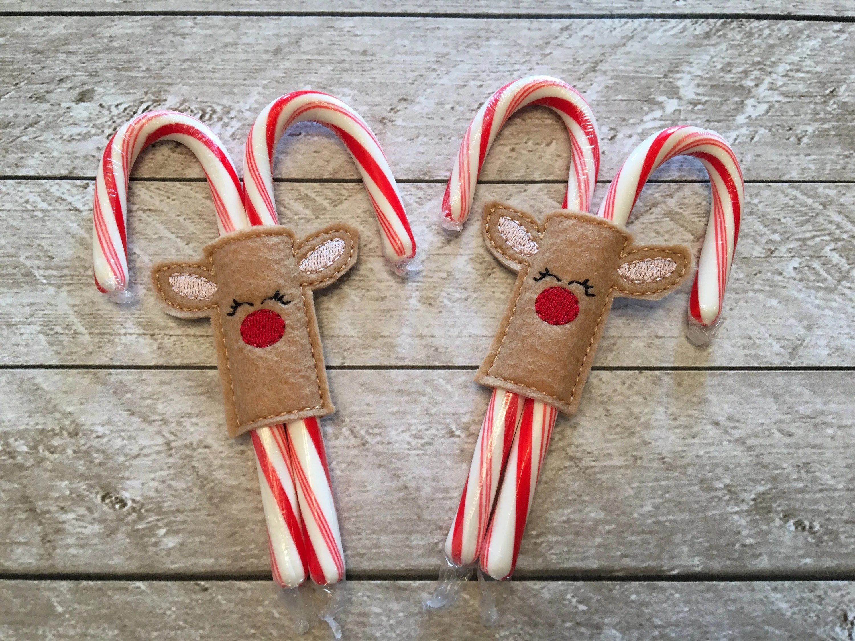 candy cane holders stocking