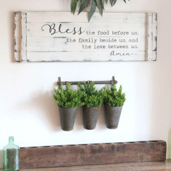 Fall Kitchen Decor Antique Copper Faucet Etsy Bless The Food Before Us 36 X12 Rustic Dining Room Sign Prayer Large Farmhouse