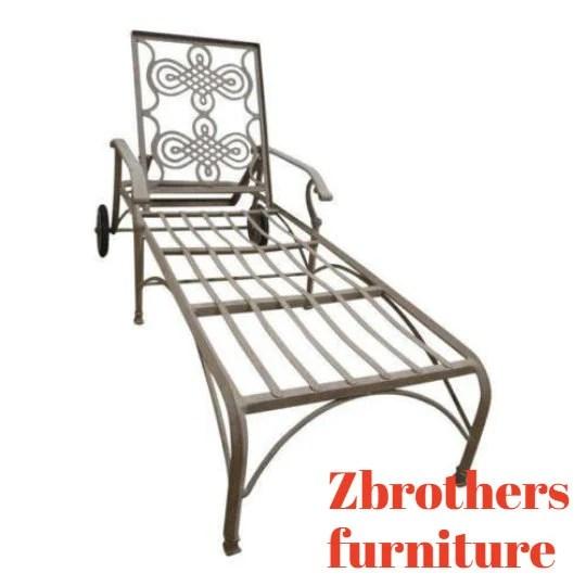 landgrave cast classics woodard outdoor patio porch chaise etsy