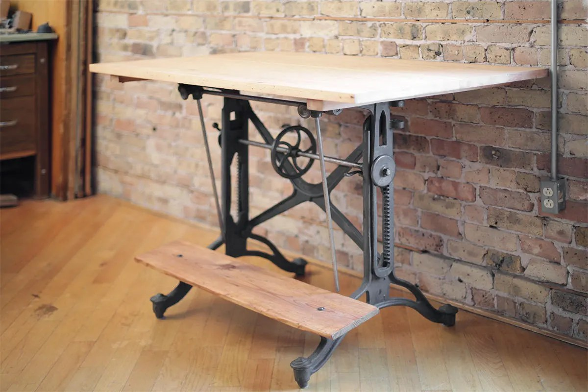 Antique Drafting Table Parts