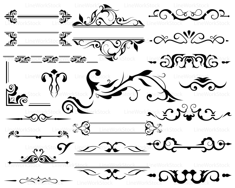 Swirl Svg Scroll Clipart Swirl Svg Swirl Silhouette Scroll