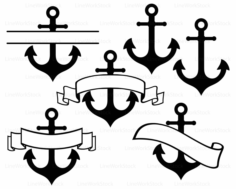 Anchor Svg Anchor Clipart Anchor Svg Anchor Silhouette