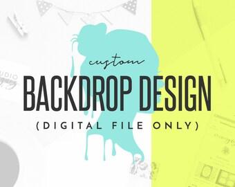 backdrop design etsy