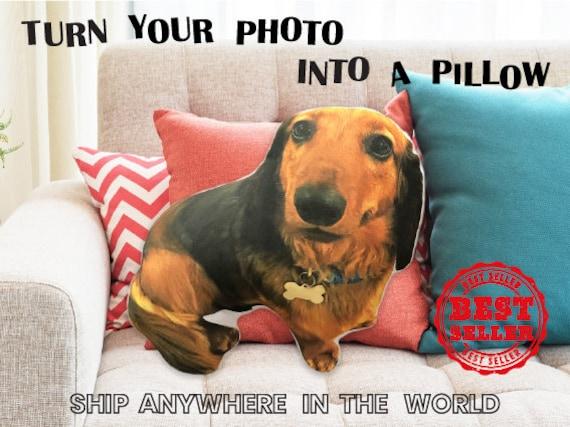 Custom shaped dog pillow