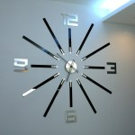 Wall Clock Big Clock Large Wall Clock Gift Wall Decor Unique Wall Clocks Mirror 115cm X 115cm 45 28x45 28