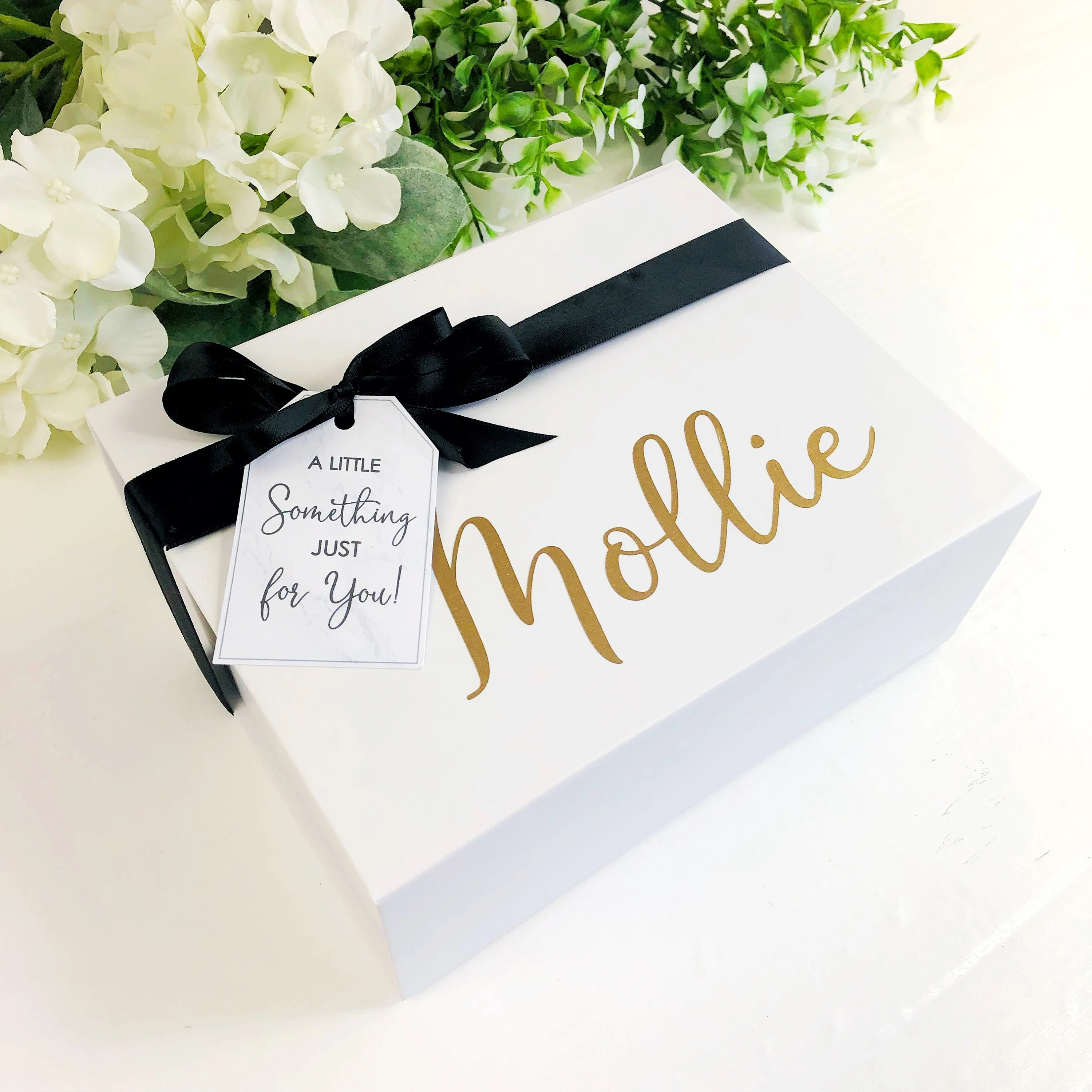 Pre filled will you be my Bridesmaid box. Personalised image 2