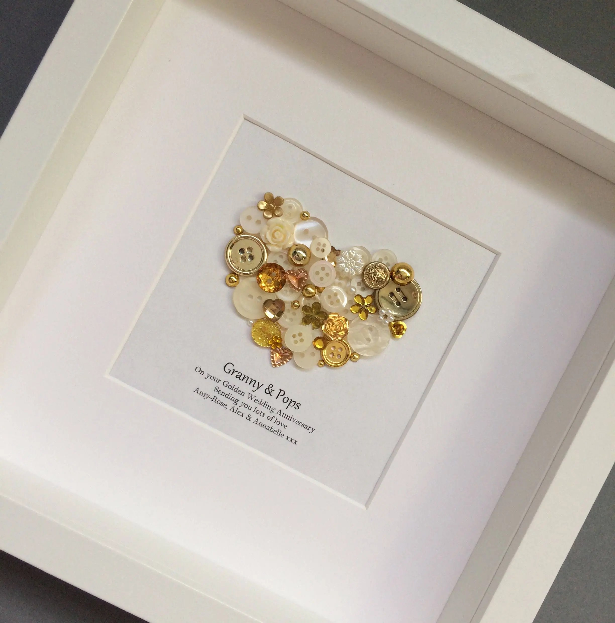personalised 50th anniversary gifts