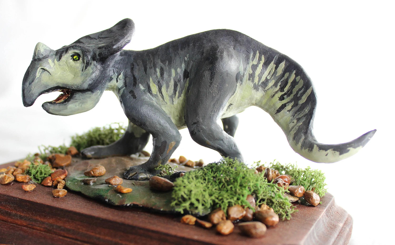 dinosaur sculpture etsy