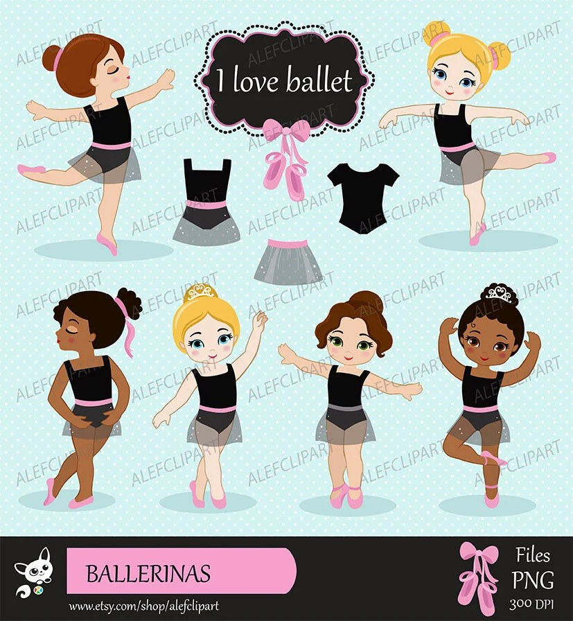 hight resolution of ballet digital clipart set ballerina clipart ballet clipart tutu clipart ballet slippers