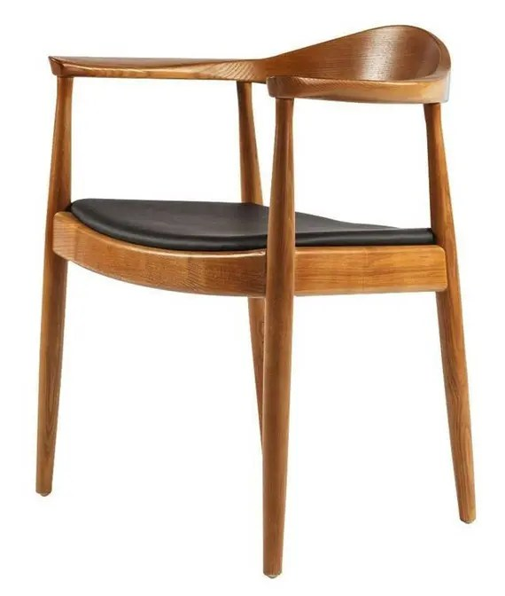 Round Chair Hans Wegner Etsy