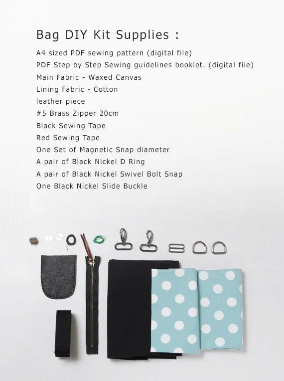 Niizo canvas tote bag item list