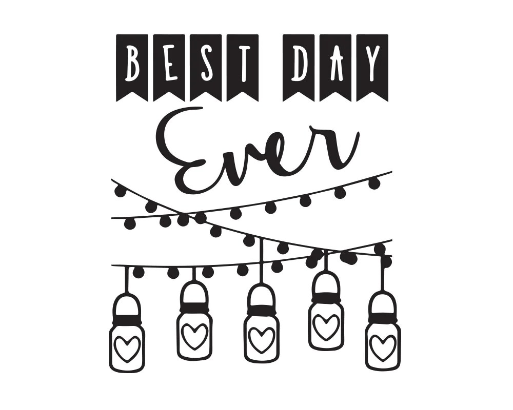 Rustic Wedding Favors Svg/Eps/Dxf/Pdf/Png Personal Use DIY