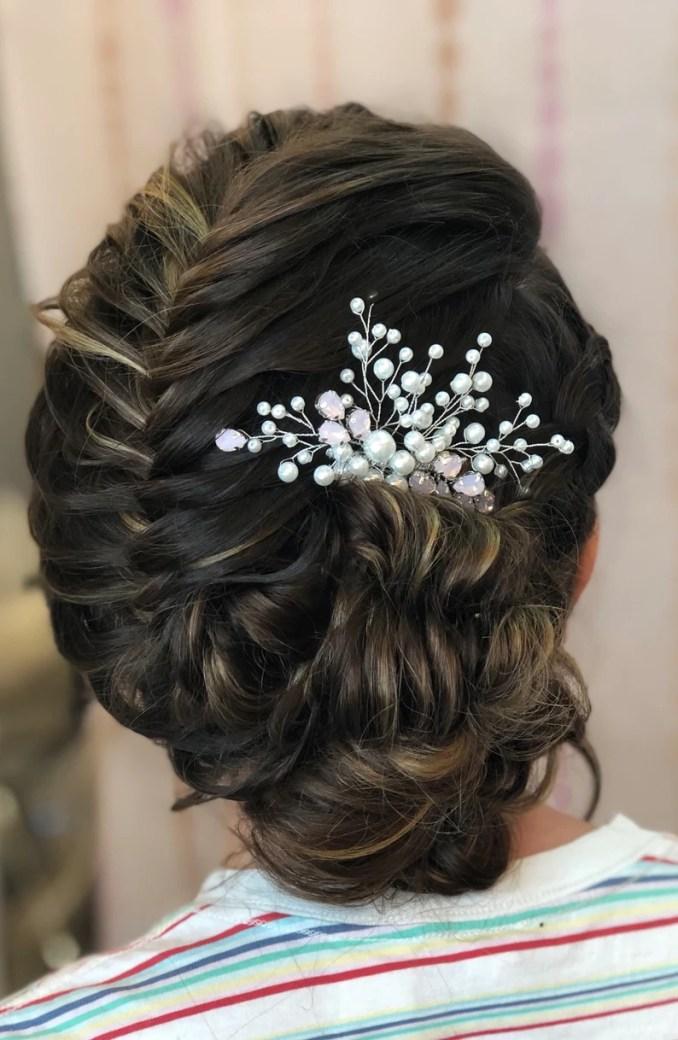 bridal hair comb, bridal headpiece, wedding hair accessories, bridal hair piece, bridal hairpiece, wedding hairpiece, hair pin, hair jewelry