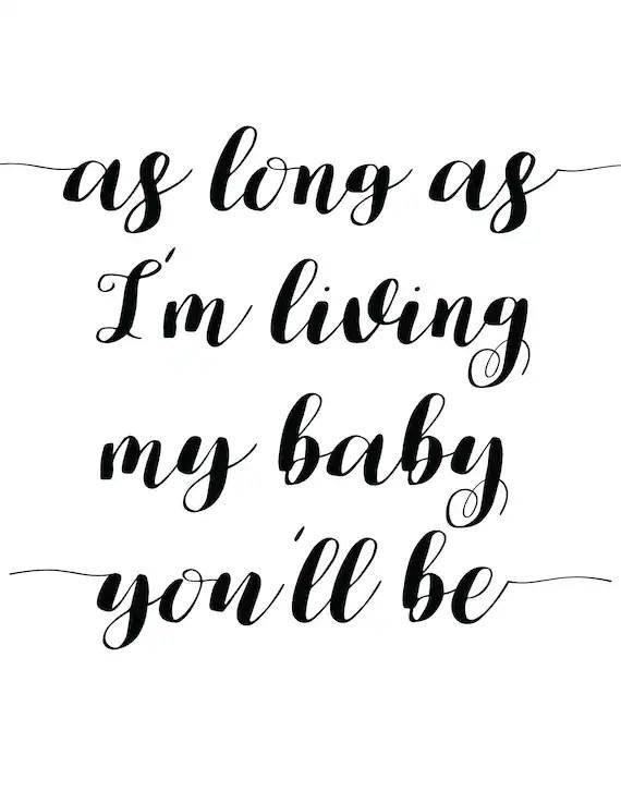 My Baby You Ll Be : Living, You'll, Nursery