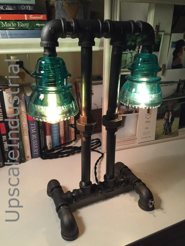 Steampunk Lamp Industrial Lighting Pipe