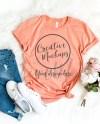 Bella Canvas Sunset Shirt Mockup 3001 Stylish Feminine Etsy