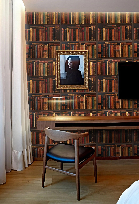 books wallpaper bookshelf wallpaper