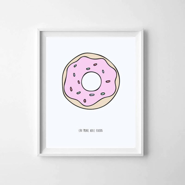 donut printables oh happy day - 800×800