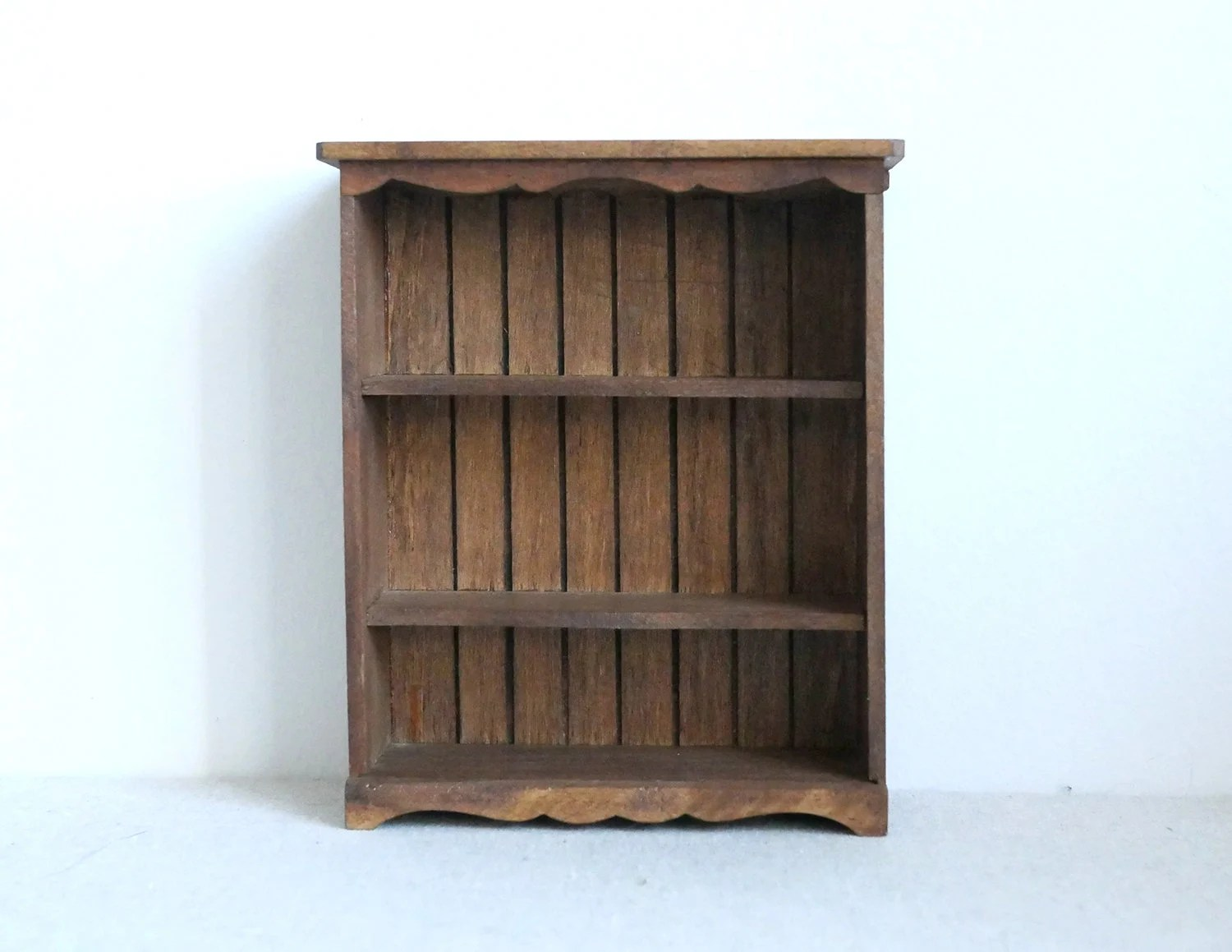 1 12th Scale Dollhouse Miniatures Handmade Shelf Miniature Multipurpose Storage 1 12th Scale Wooden Shelf Thanksgiving Gift
