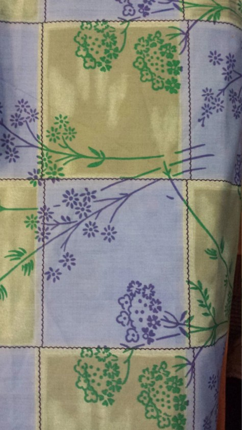 Golden Dor Fabric Blue/Gr...