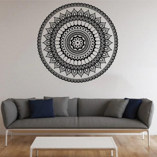 Mandala Symbol Vinyl Decal Wall Sticker