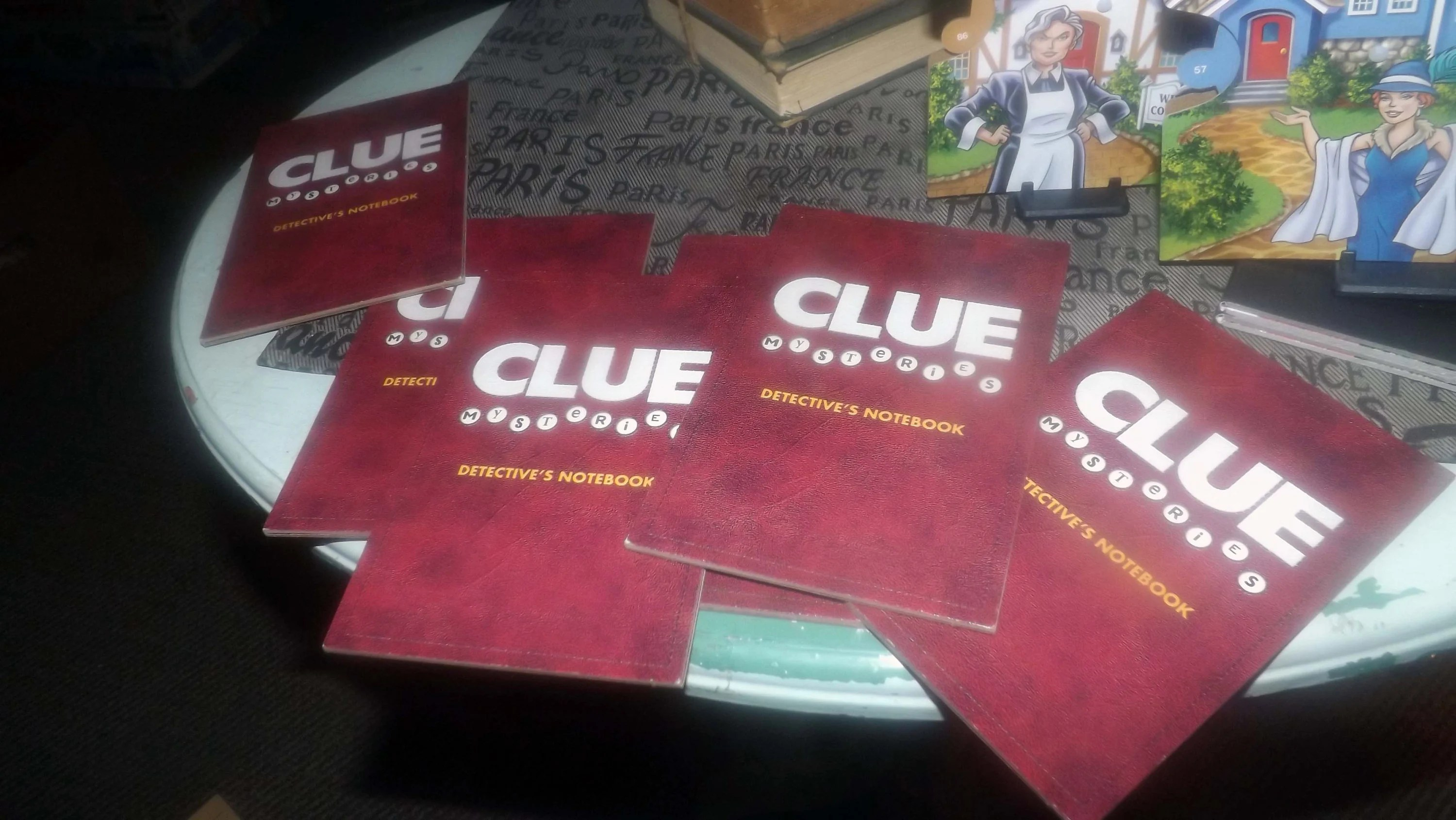 Clue Mysteries Decoding Detective Board Game Published By