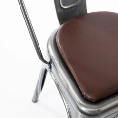 Tolix Chair Cushion Mat For Hardwood Floor Etsy Leather Rounded Or Square Stool Metal Chairs And Stools Tabouret Osp Adeco