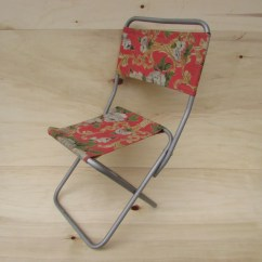 Fishing Chair Small Acrylic Folding Chairs Set Of 2 Vintage Etsy Image 0