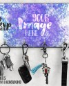 Dye Sublimation Key Hanger Mockup Add Your Own Image And Etsy