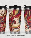 Dye Sublimation 15 Ounce Poly Hull Stainless Steel Travel Mug Etsy