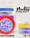 Party Favor 1oz Childs Play Craft Dough Label Mockup Add Etsy