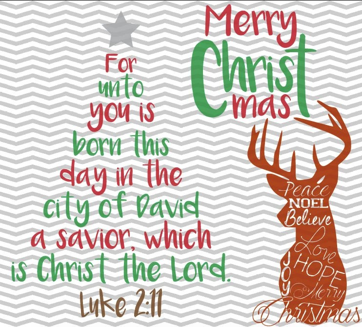 christmas tree bible verse