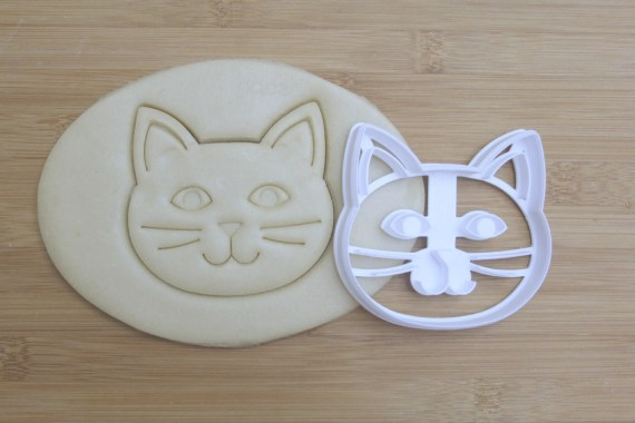Cat Cookie Cutter from Print and Flourish on Etsy