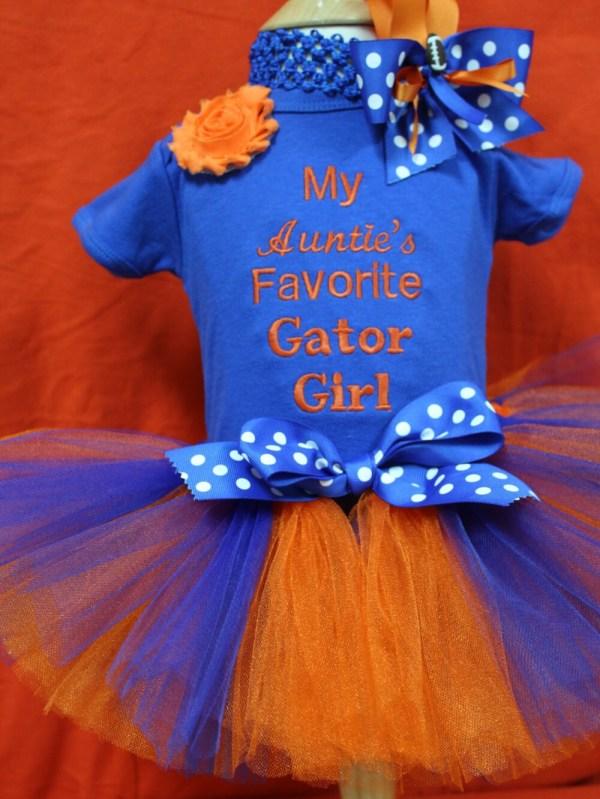 Florida Gators Baby Girl Clothes Shower