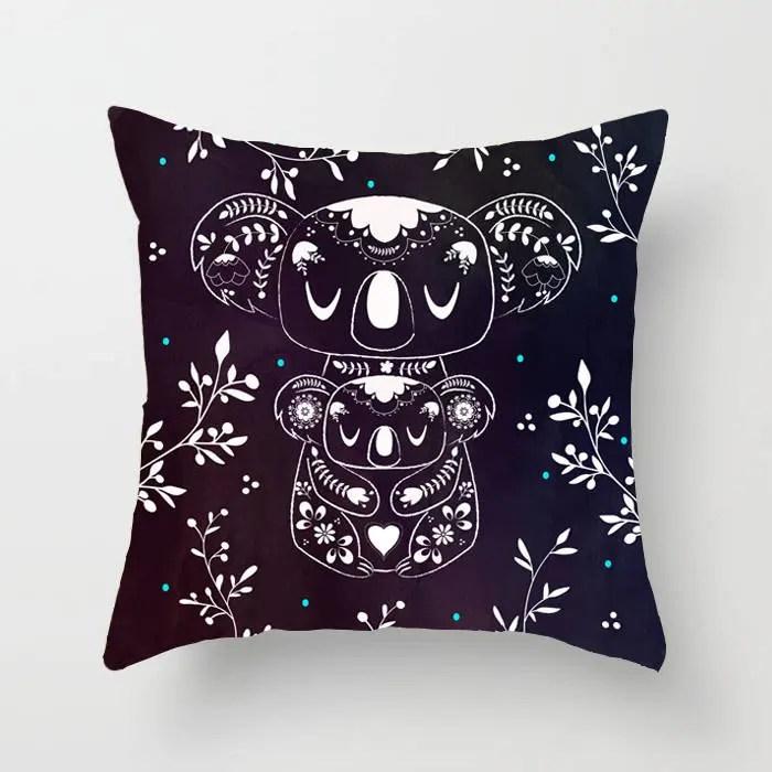 Koala Pillow Kid Throw Pillow Decorative Pillow Playroom