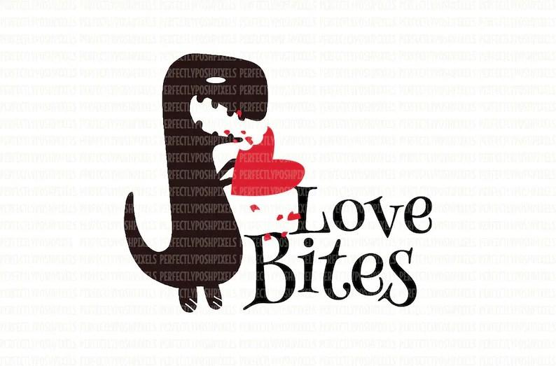 Download Valentine SVG DXF EPS Love Bites Silhouette Designer ...